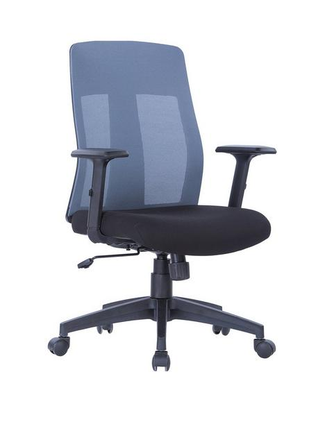 alphason-laguna-fabric-and-mesh-back-chair-grey