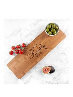 personalised-bamboo-family-serving-board