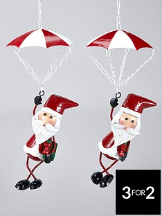 three-kings-santa-chute-christmas-tree-decorations-set-of-2