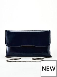 v-by-very-katrina-clutch-bag-navy