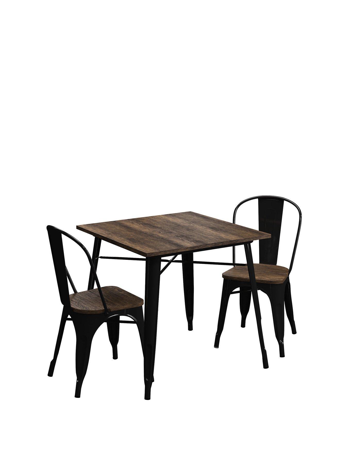 Paris Beech Dining Tables 75 x 50 x 75 cm