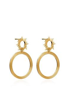 rachel-jackson-london-22ct-gold-plated-silver-electric-goddess-front-facing-hoop
