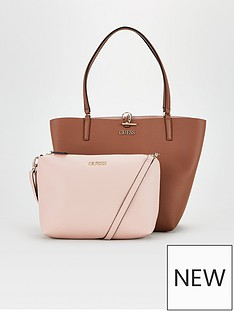 guess-alby-two-tone-tote-bag-taupepink
