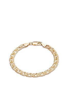 rachel-jackson-london-rachel-jackson-22ct-gold-plated-silver-statement-chevron-medium-chain-curb-bracelet