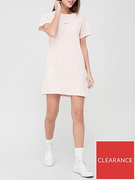 dkny-sport-medallion-logo-t-shirt-dress-pink