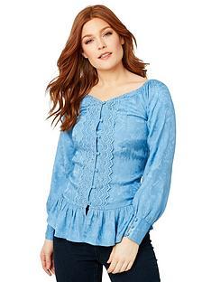 joe-browns-vintage-jacquard-blouse-powder-blue