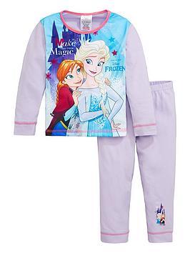 disney-frozen-girls-frozen-elsa-and-anna-raglan-long-sleeve-pjs-multi