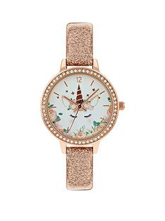 tikkers-tikkers-unicorn-dial-nude-glitter-strap-kids-watch