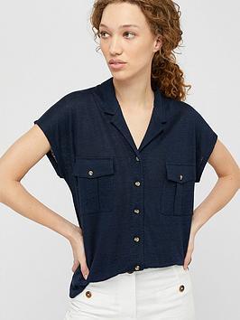 monsoon-leena-linen-button-down-shirt-navy