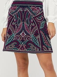 monsoon-emmy-organic-cotton-embroidered-skirt-navy