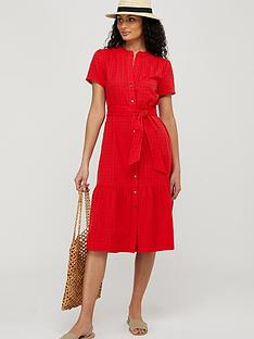 monsoon-hope-textured-tiered-midi-dress-red