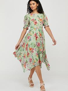 monsoon-hermione-printed-sustainable-tea-dress-green
