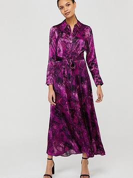 monsoon-synthia-snake-print-shirt-dress-purple