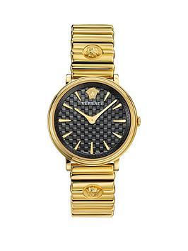 versace-versace-v-circle-black-dial-gold-stainless-steel-bracelet-ladies-watch