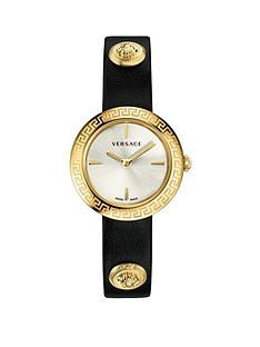 versace-versace-silver-sunray-and-gold-detail-dial-grey-leather-wrap-strap-ladies-watch