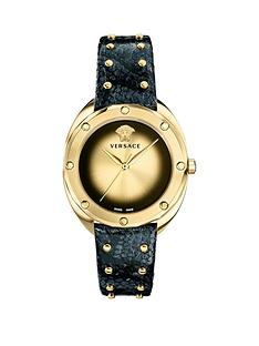 versace-shadovnbspgold-dial-black-studded-leather-strap-ladies-watch