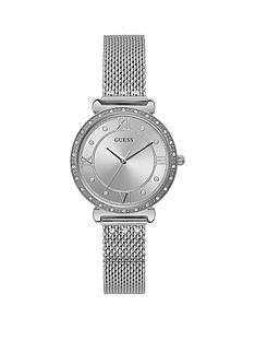 guess-guess-jewel-silver-sunray-dial-stainless-steel-bracelet-ladies-watch