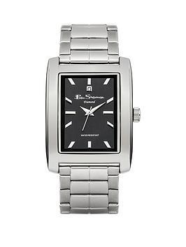 ben-sherman-ben-sherman-black-tank-dial-stainless-steel-bracelet-mens-watch