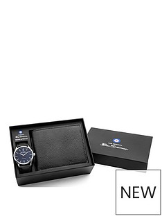 ben-sherman-ben-sherman-black-dial-black-leather-strap-mens-watch-with-wallet-gift-set