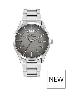 ben-sherman-ben-sherman-grey-sunray-daydate-dial-stainless-steel-bracelet-mens-watch