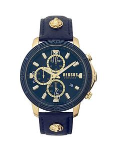 versus-versace-versus-versace-blue-and-gold-detail-chronograph-dial-blue-leather-strap-mens-watch