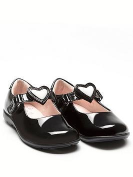 lelli-kelly-girls-wide-fit-colourissima-heart-dolly-school-shoe-black