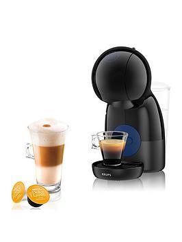 Nescafe Dolce Gusto Piccolo Xs Manual Coffee Machine By Krups - Black