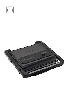 tefal-inicio-adjust-gc242840-versatile-health-grill-2000w-6-8-portions-black