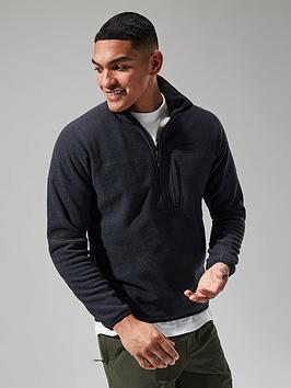 berghaus stainton 2.0 half zip fleece - black