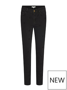 fabienne-chapot-eve-star-embroidered-slim-leg-jeans-black