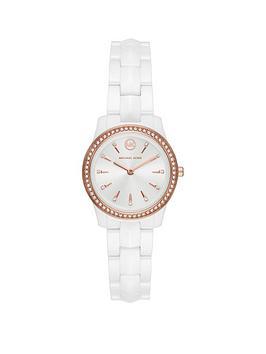 michael-kors-michael-kors-runway-mercer-silver-dial-ceramic-stainless-steel-braclet-watch