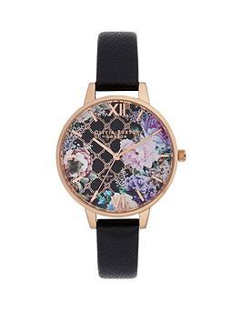 olivia-burton-olivia-burton-glasshouse-demi-floral-dial-black-strap-watch