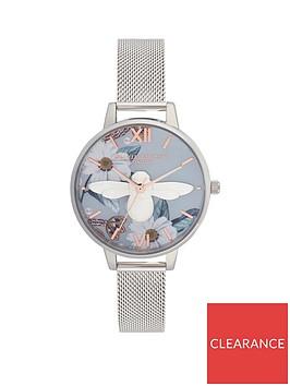 olivia-burton-olivia-burton-bejewelled-floarals-3d-bee-floral-dial-silver-mesh-watch