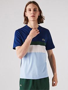 lacoste-sportswear-block-logo-t-shirt-navyblue