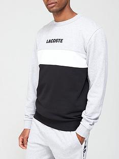 lacoste-sport-logo-sweatshirt-greyblack