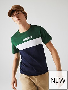 lacoste-sport-colour-block-logo-t-shirt-greennavy