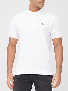 lacoste-plain-polo-with-croc-white