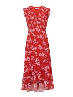 allsaints-dela-jasmine-floral-print-wrap-dress-red