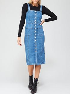 allsaints-elise-button-through-denim-dress-blue