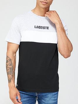 lacoste-colour-block-logo-t-shirt-blackwhite