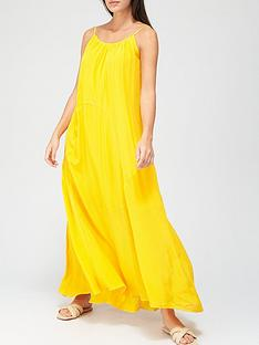 allsaints-amor-sleeveless-maxi-dress-yellow