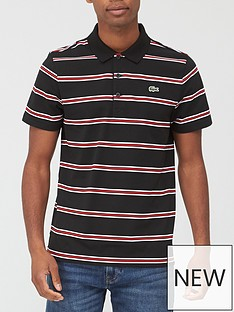 lacoste-sport-stripe-polo-shirt-blackred