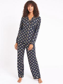 chelsea-peers-jersey-bee-revere-pyjamas-multi