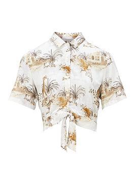 allsaints-leni-animal-print-shirt-white