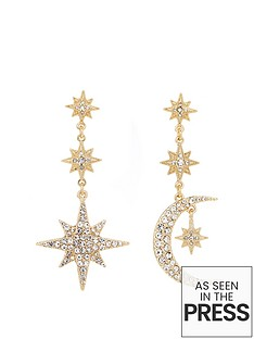 mood-gold-plated-mix-and-match-stars-and-moon-drop-earrings