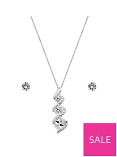 simply-silver-cubic-zirconia-stick-jewellery-set