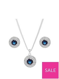 jon-richard-blue-double-halo-pendant-and-earring-set