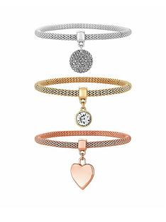 mood-three-pack-mesh-bracelets-with-charms