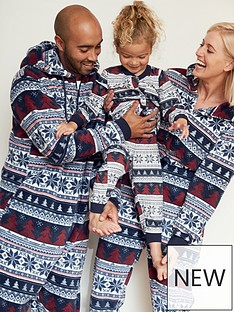 very-man-mens-family-christmasnbspfairisle-all-in-one-multi