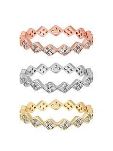 jon-richard-cubic-zirconia-interlock-stacking-rings